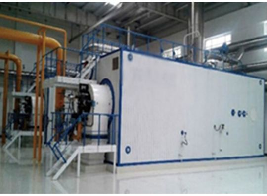 SZS fuel gas hot water boiler