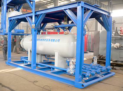 Application of gas-liquid two-phase separator in natural gas wellhead